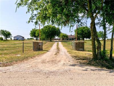 Jarrell Single Family Home Pending - Taking Backups: 611 County Road 310