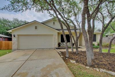 Round Rock Single Family Home For Sale: 1111 Fossil Cv