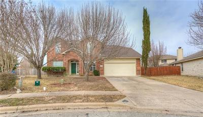 Pflugerville Single Family Home Pending - Taking Backups: 1502 Campanula Ct