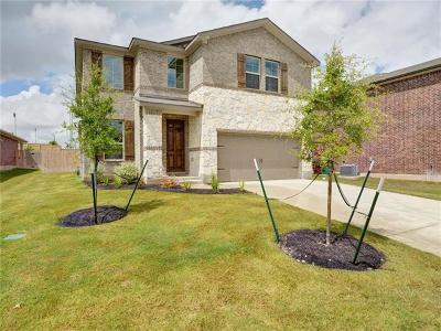 Round Rock Single Family Home For Sale: 2140 Hat Bender Loop