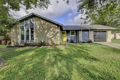 Travis County Single Family Home Pending - Taking Backups: 4910 Broadhill Dr