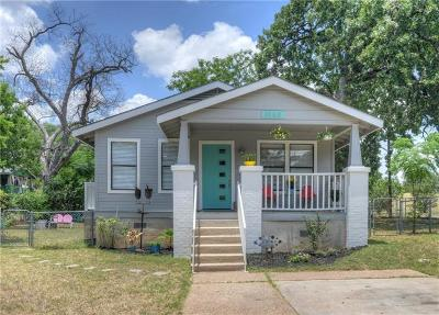 Austin Single Family Home For Sale: 1140 Leona St