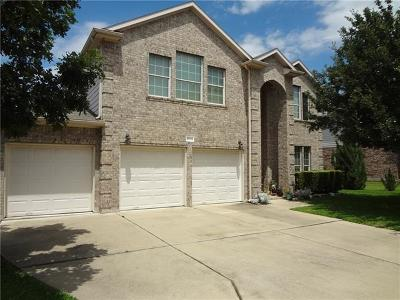 Pflugerville Single Family Home For Sale: 20734 Silverbell Ln