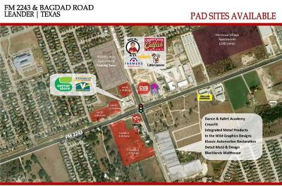 Leander Residential Lots & Land For Sale: W Old Hero Way