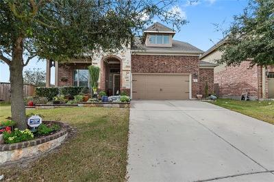 Round Rock Single Family Home For Sale: 2454 Santa Barbara Loop