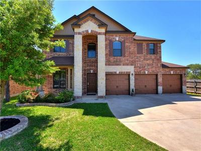 Cedar Park Single Family Home Active Contingent: 109 Settlers Home Dr