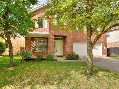 Cedar Park Single Family Home For Sale: 2724 Lovett Ln