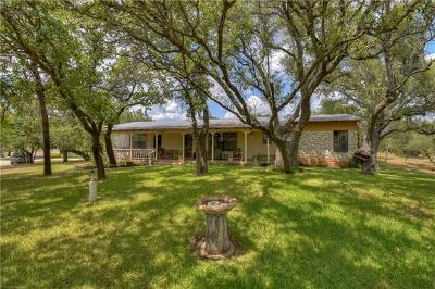 Marble Falls Single Family Home For Sale: 139 Pecan Rd