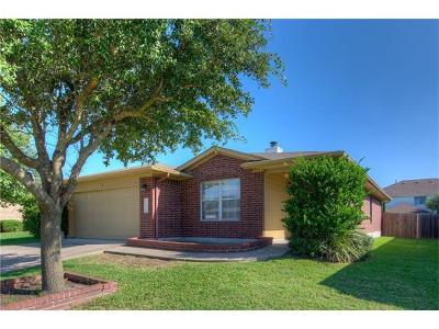 Round Rock Single Family Home For Sale: 3708 Julianas Way