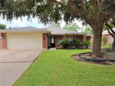Cedar Park Single Family Home For Sale: 1207 Meghan Dr