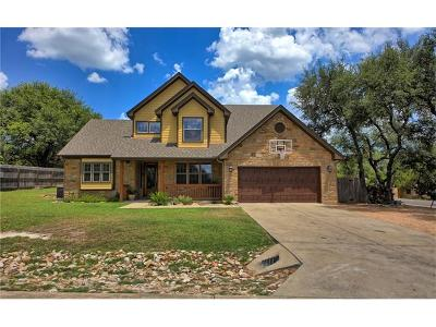 Travis County Single Family Home For Sale: 18812 Venture Dr