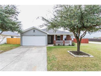 Hutto Single Family Home For Sale: 402 Stewart Dr