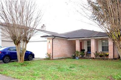 Pflugerville Single Family Home For Sale: 1708 Willow Bluff Dr