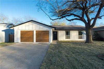 Hays County, Travis County, Williamson County Single Family Home Pending - Taking Backups: 7811 Woodcroft Dr