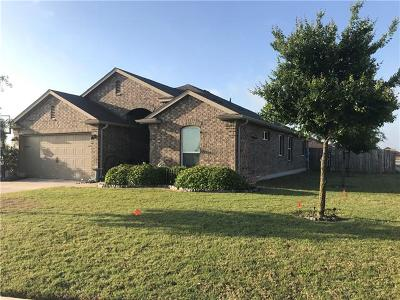 Hutto Single Family Home For Sale: 100 Pearland St