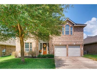 Pflugerville Single Family Home For Sale: 20223 Bellerive Dr