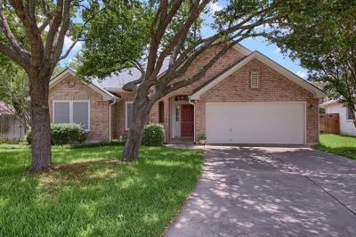 Austin Single Family Home Pending - Taking Backups: 8903 Perch Cv