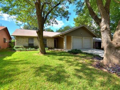 Travis County, Williamson County Single Family Home For Sale: 11620 Elk Park Trl
