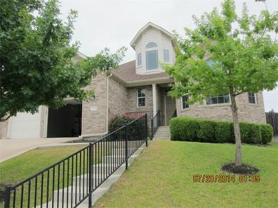 Cedar Park Rental For Rent: 2706 Corabella Pl