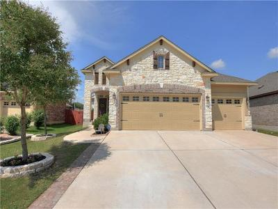 San Marcos Single Family Home Pending - Taking Backups: 309 Leather Oak Loop