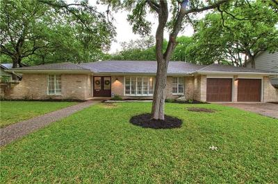 Austin Single Family Home For Sale: 7604 West Rim Dr