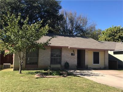 Travis County Single Family Home For Sale: 1106 Desirable Dr