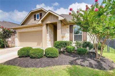 Pflugerville Single Family Home For Sale: 2616 Creeping Vine Ct