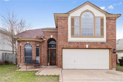 Round Rock Single Family Home For Sale: 1004 Pathfinder Way