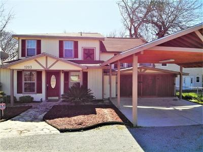 New Braunfels Single Family Home For Sale: 1203 Lone Star Dr