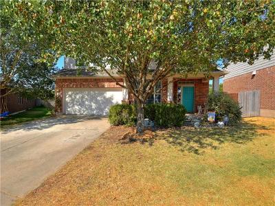 Round Rock Single Family Home For Sale: 3114 Karstview Cv