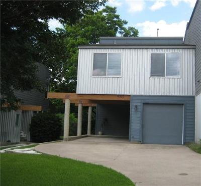 Austin Condo/Townhouse For Sale: 6302 Carson Rdg #A