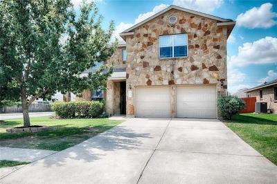 Hutto Single Family Home Pending - Taking Backups: 122 Mossy Rock Cv