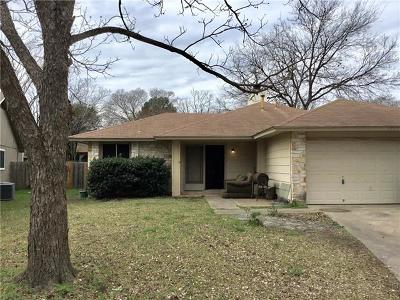 Travis County, Williamson County Single Family Home Pending - Taking Backups: 9742 Anderson Village Dr