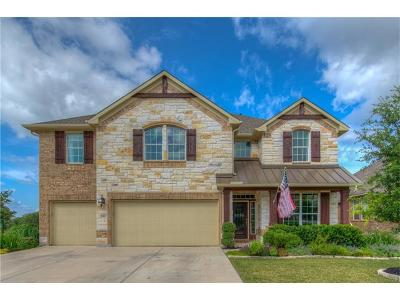 Cedar Park Single Family Home For Sale: 1511 Rimstone Dr