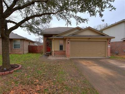 Travis County Single Family Home Pending - Taking Backups: 2104 Wilma Rudolph Rd