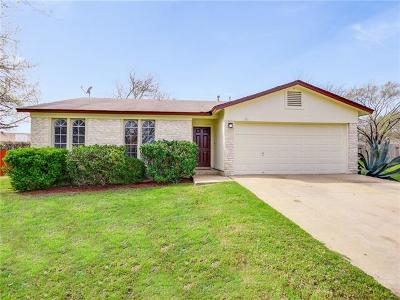 Austin Single Family Home For Sale: 301 Hickok Ct