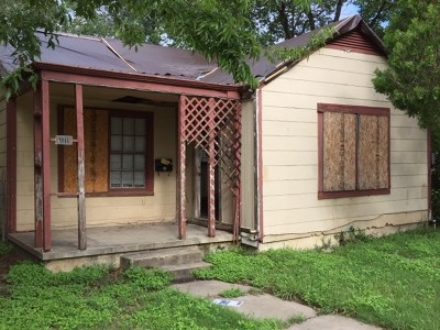 Taylor Single Family Home For Sale: 1011 Washburn St