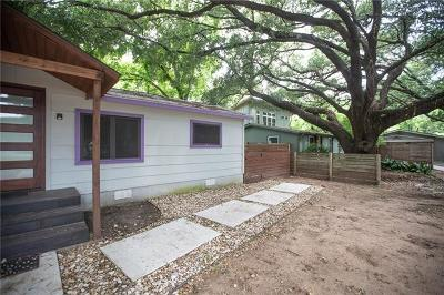Austin Single Family Home For Sale: 1500 Robert Weaver Ave