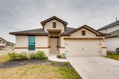 Round Rock Single Family Home For Sale: 8100 Pescara Cv
