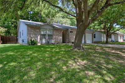 Hays County, Travis County, Williamson County Single Family Home Pending - Taking Backups: 7104 Sir Gawain Dr