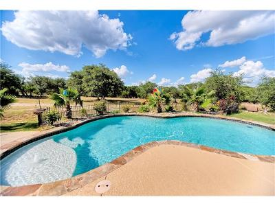 Dripping Springs Single Family Home For Sale: 465 Frontera Ranch Cv