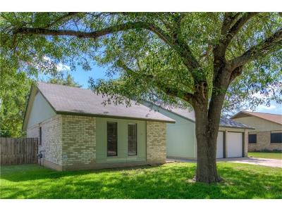 Round Rock Single Family Home Pending - Taking Backups: 701 Andover Dr