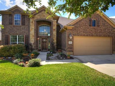 Round Rock Single Family Home Pending - Taking Backups: 4386 Barchetta Dr