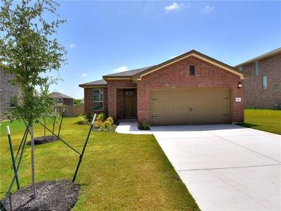 Round Rock Single Family Home For Sale: 2211 Land Grant Way