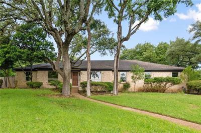 Austin Single Family Home Pending - Taking Backups: 8802 Silverwood Ct