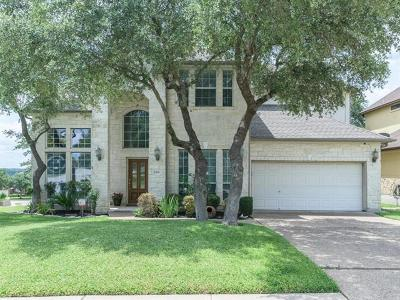 Cedar Park Single Family Home For Sale: 2501 Wanakah Ridge Dr