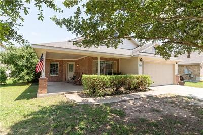Hutto Single Family Home For Sale: 1302 Creek Bend Cv