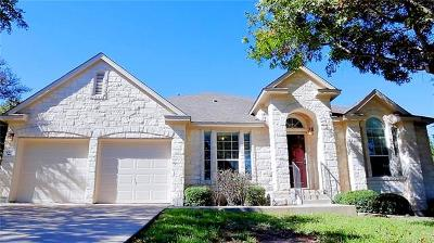 Round Rock Single Family Home For Sale: 4503 Corazon Cv