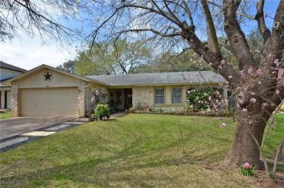 Travis County Single Family Home Pending - Taking Backups: 6206 Adel Cv