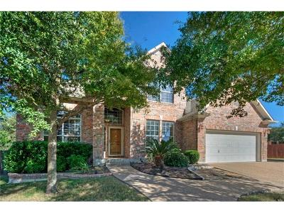 Cedar Park Single Family Home For Sale: 2502 Kopperl Ct